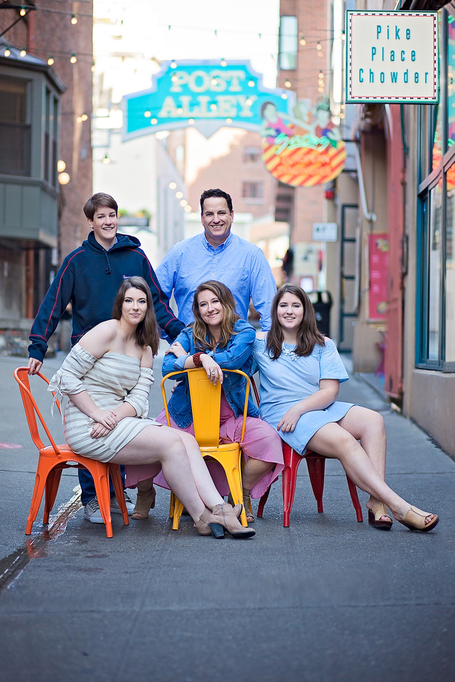 Family Portraits with Jeannine Pound Photography in Seattle