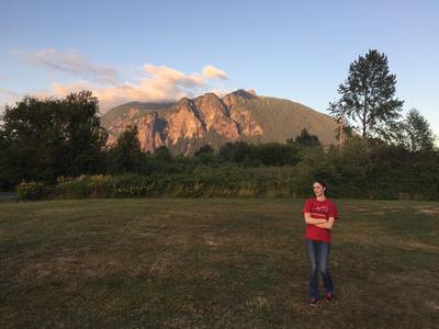 meadowbrook farm interpretive center field after sunset