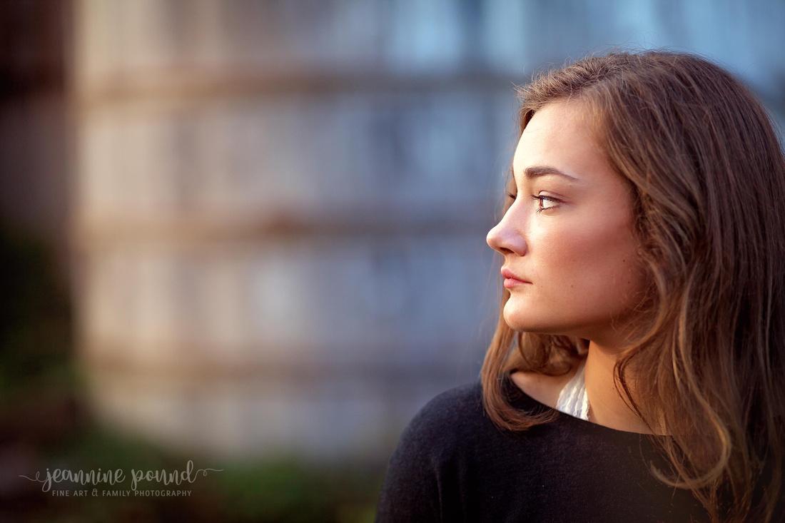 Senior Portraits with Jeannine Pound Photography